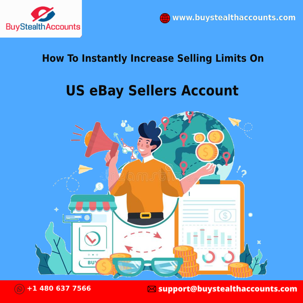 How To Instantly Increase Selling Limits On US eBay Sellers Account