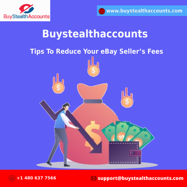 Buystealthaccounts - Tips To Reduce Your eBay Sellers Fees