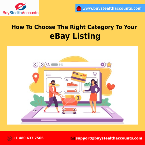 How to Choose the Right Category for Your eBay Listing