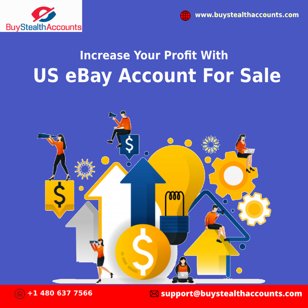 Increase Your Profit With US eBay Account For Sale