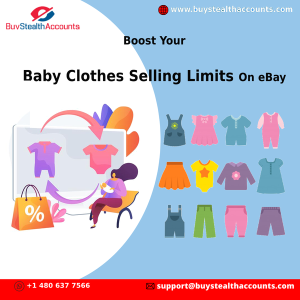 Boost Your Baby Clothes Selling Limits On eBay