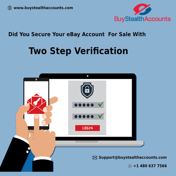 Did Your Secure Your eBay Account For Sale With Two Step Verification
