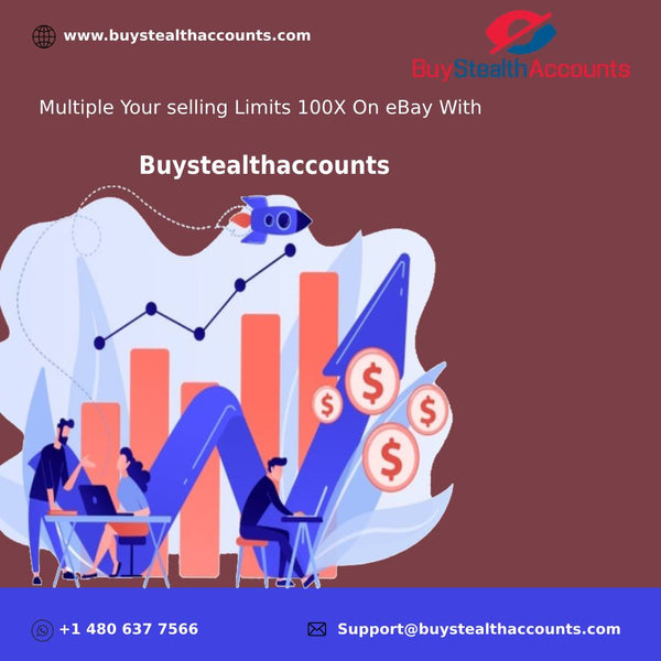 Multiple Your selling Limits 100X On eBay With Buystealthaccounts