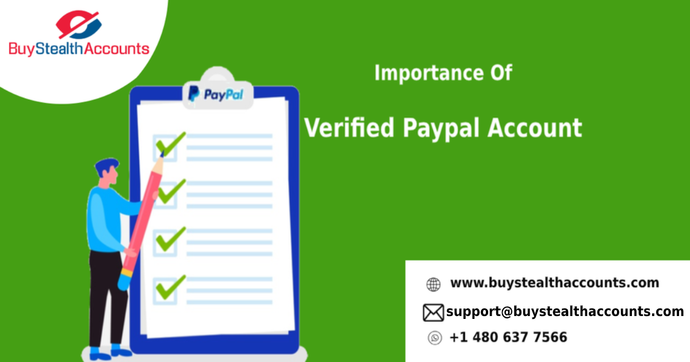 Importance Of Verified Paypal Account