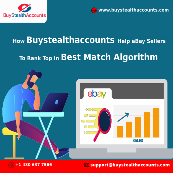 How Buystealthaccounts Help eBay Sellers To Rank Top In Best Match Algorithm