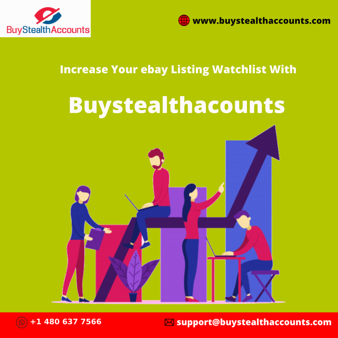 Increase Your ebay Listing Watchlist With Buystealthacounts