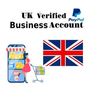 UK PayPal Verified Business Account