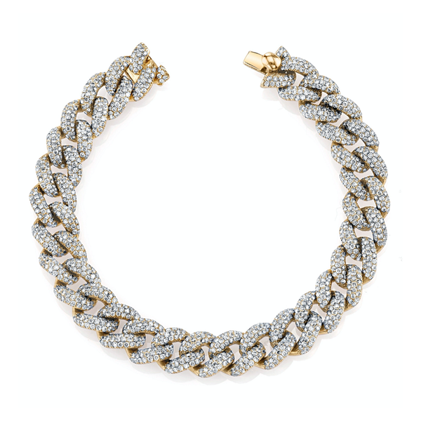 Shay Pave Diamond Essential Link Bracelet