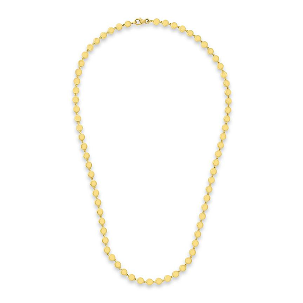 Jennifer Meyer Mini Circle Link Necklace