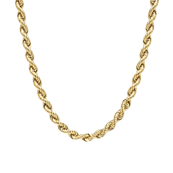 "Zoe Chicco 16"" Large Rope Chain Necklace"