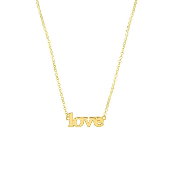 Jennifer Meyer Love Necklace