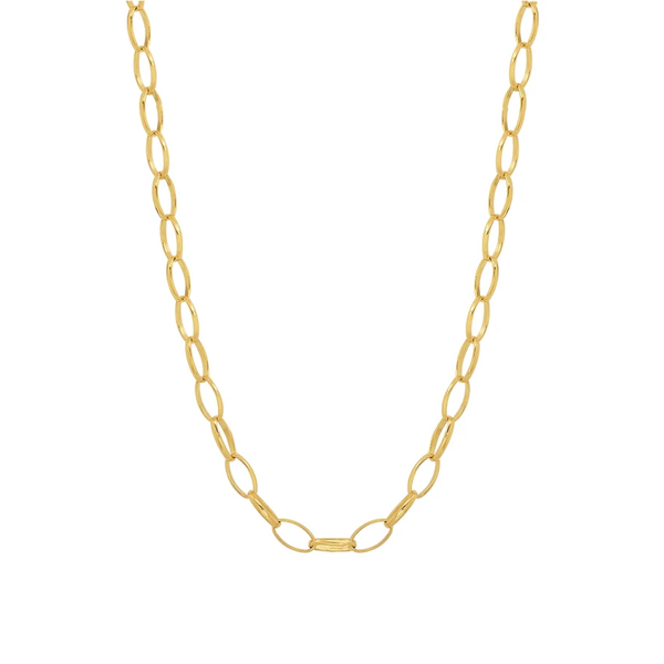 Jennifer Meyer Small Edith Link Necklace