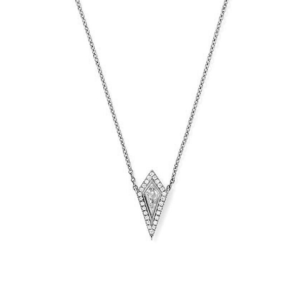 Eva Fehren White Diamonds Ezzat Pendant