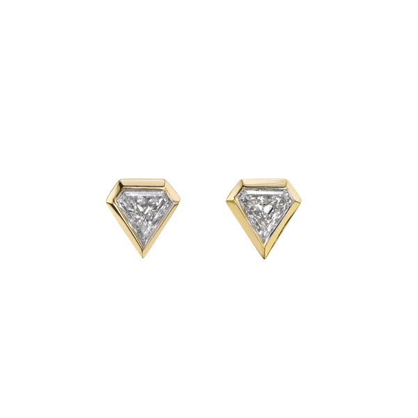 Azlee Shield Diamond Studs