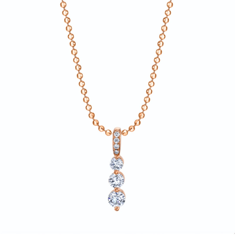 Anita Ko Short Twiggy Diamond Necklace