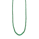 Azlee Rich Emerald Bead Necklace