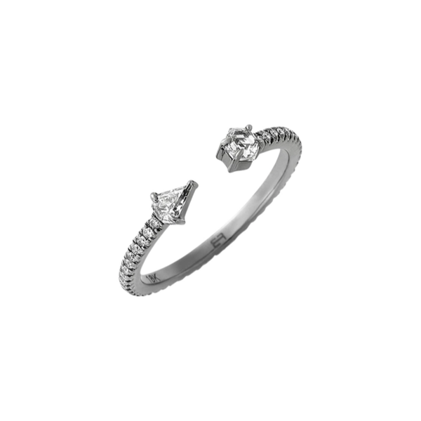 Eva Fehren Open Orbit Diamond Ring