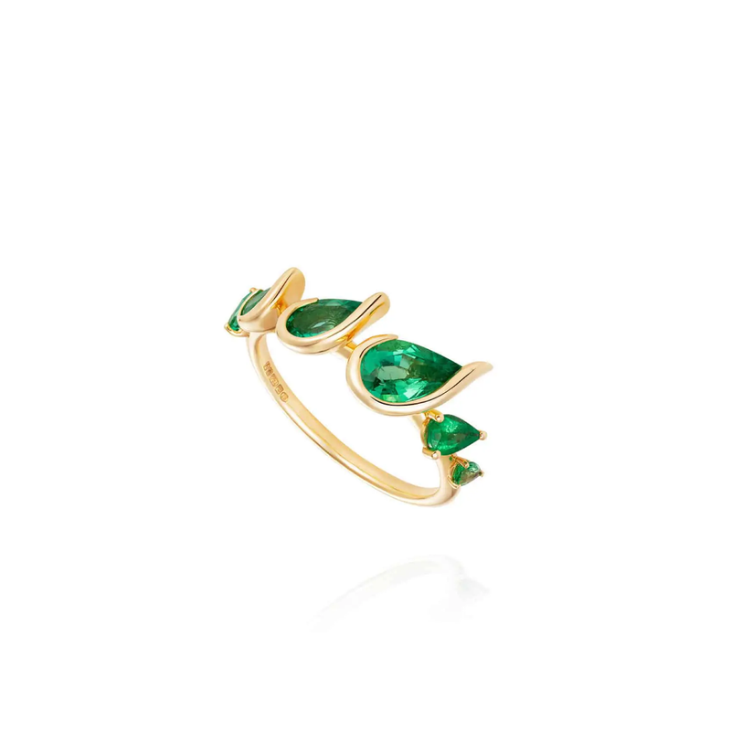 Fernando Jorge Flicker Emerald Ring