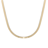 "Zoe Chicco 20"" Herringbone Chain Necklace"