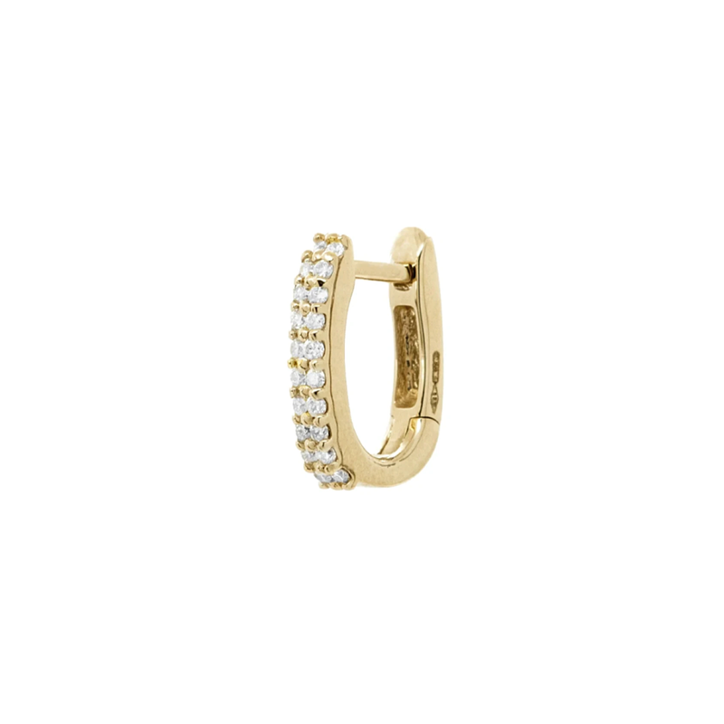 Eera Basic Diamond Hoop