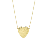 Jennifer Meyer Hammered Heart Necklace