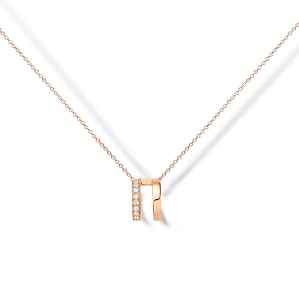 Repossi Berbère Monotype 1 Diamond Row Pendant