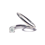 Kat Kim Grande Crescendo Flare Diamond Ring