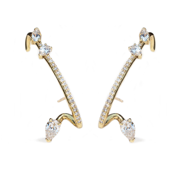 Kat Kim Allora Diamond Earring