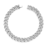 Shay Medium Pave Diamond Link Bracelet