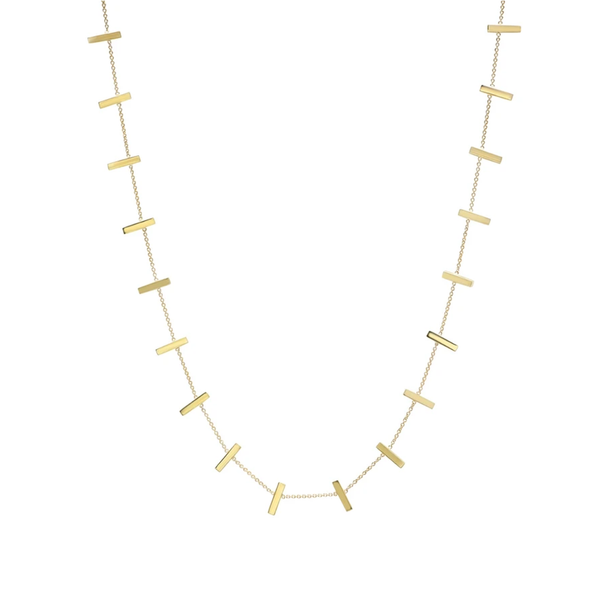 Jennifer Meyer Cross Bar Necklace