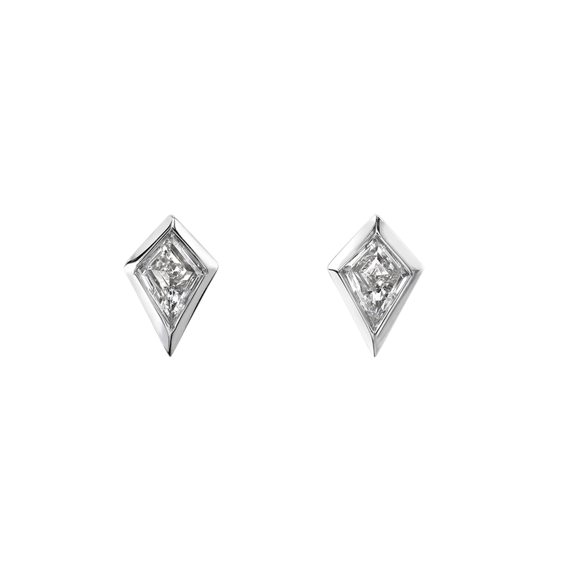 Azlee Kite Diamond Studs