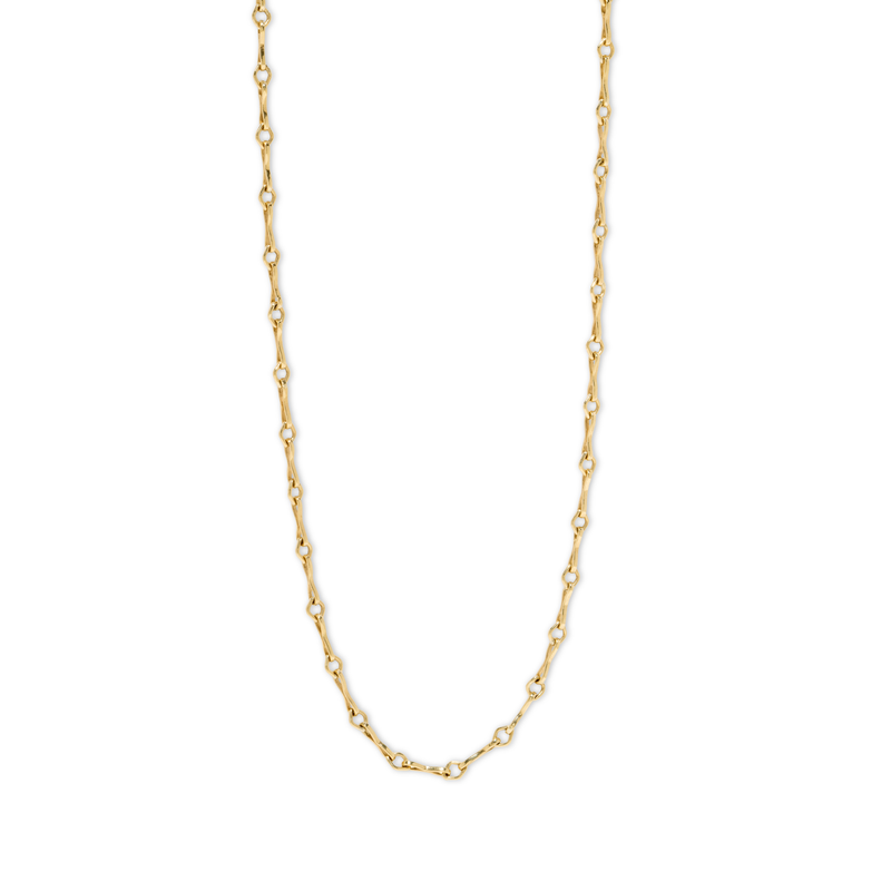 Azlee Small Diamond Link Handmade Chain