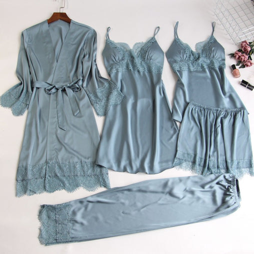 Five-Piece Pajamas Set