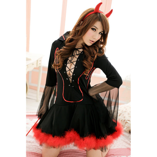 Demon Cosplay Costume Suit