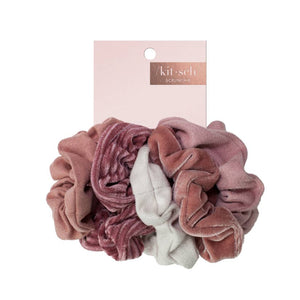 Velvet Scrunchies 5 Pack