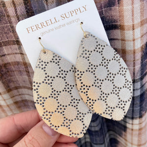 Marquis Leather Earring Ferrell Supply