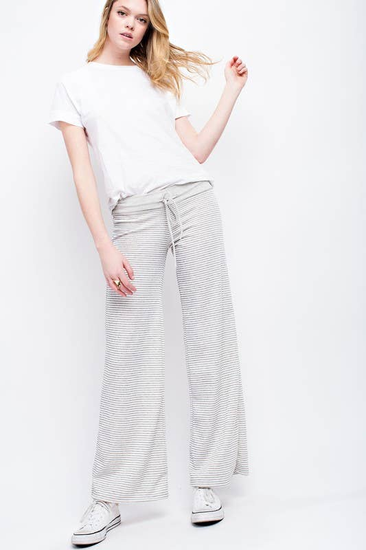 Striped Loose Fit Pant