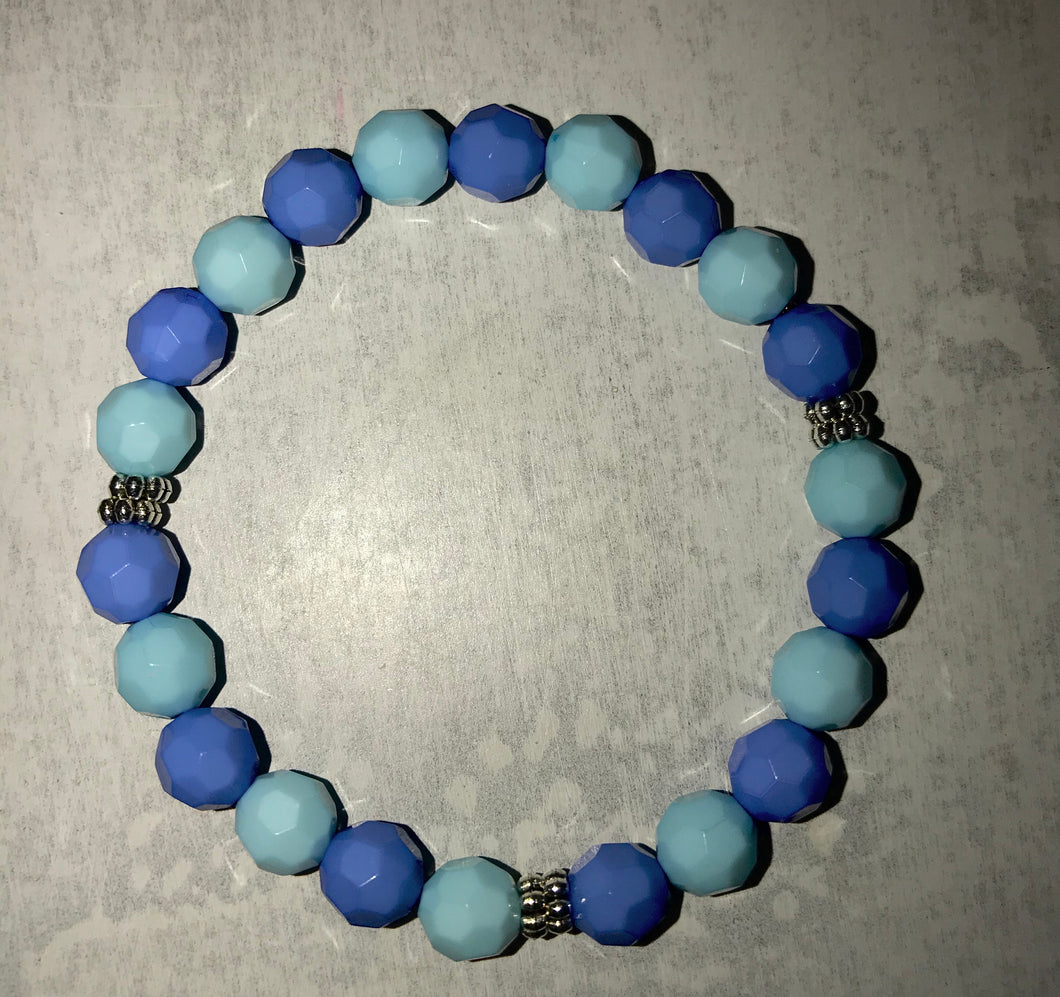 "Egyptian Blue Bracelet ""Loyalty"""