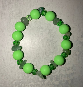 "Green Chunk Bracelet ""Ambition"" *SALE*"