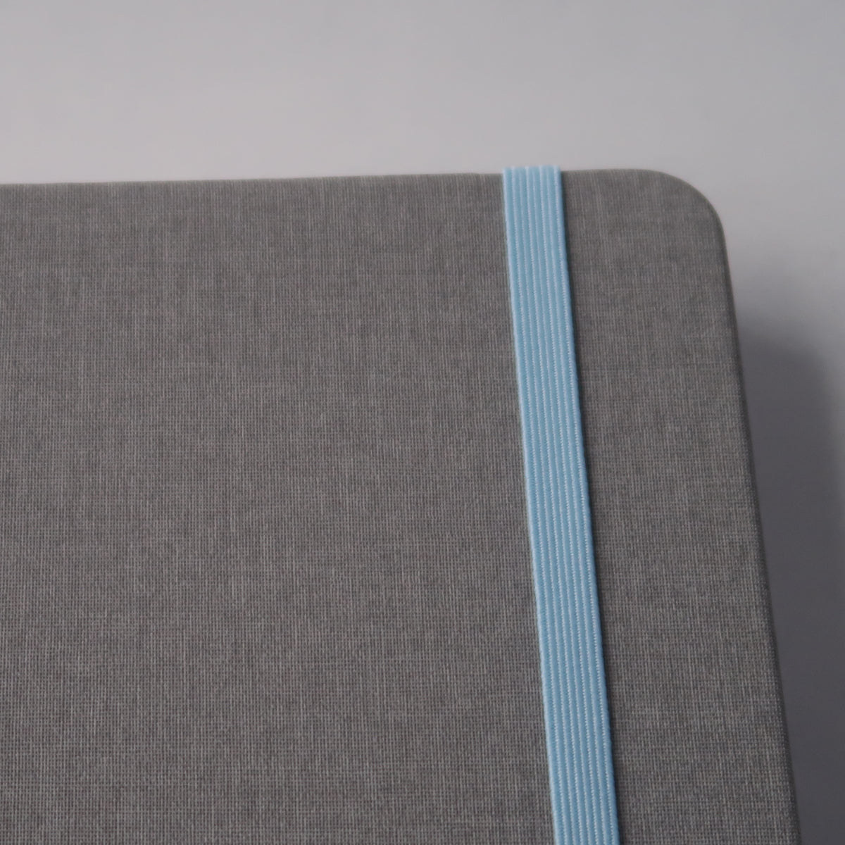 A5 Sky Grey Notebook (White Paper)