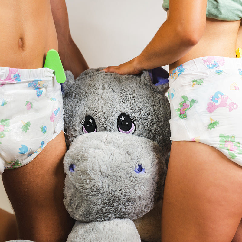 Magnifico All Over Print Diapers