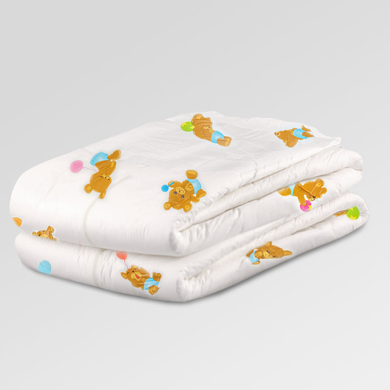 Teddy All Over Print Diapers