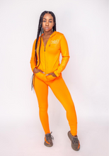 Load image into Gallery viewer, On The Run Track Suit (Orange)