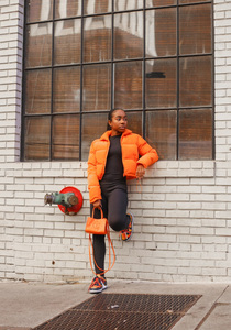 La Flaire Jacket (Orange)