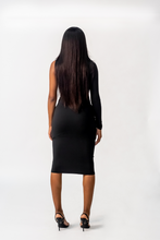 Load image into Gallery viewer, Cold Shoulder Dress