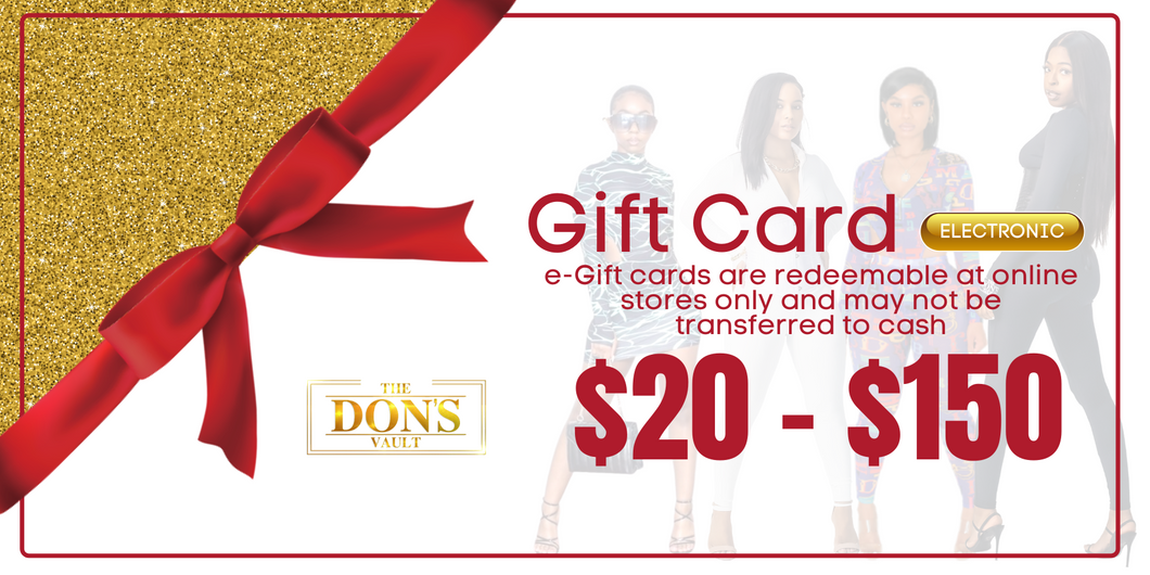 The Don's Vault Gift Card