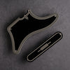 STREAMLINE - Cabronita Pickguard and Backplate Set - Black/Cream/Black