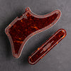 STREAMLINE - Cabronita Pickguard and Backplate Set - Tort Mars Red 4-ply