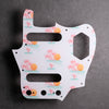 Key West - Jaguar Pickguard - White