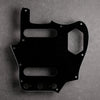 Black/White/Black - Jaguar Pickguard - 3-ply Vinyl